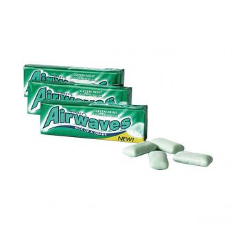 Wrigley Airwaves Green Mint o. Zucker 30x 14g