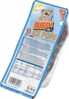 Bussy Drink Wassereis 10x 30ml EINWEG
