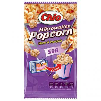 Chio Mikrowellen Popcorn süß 22x 100g