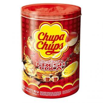 Chupa Chups Colalutscher 100 Stück