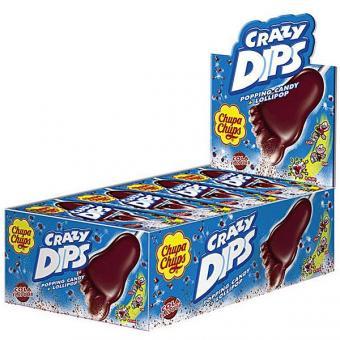 Chupa Chups Crazy Dips Cola 24 Stück 14g