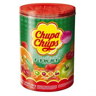 Chupa Chups Fruchtlutscher 100 Stück
