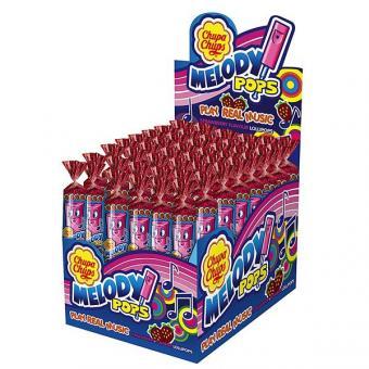 Chupa Chups Lutscher Melody Pops Fruit  48 Stück