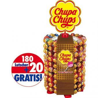 Chupa Chups Lutscher im Display 200 Stück