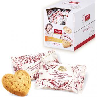 Coppenrath Caramel Cookie - Herzen 200 Stück