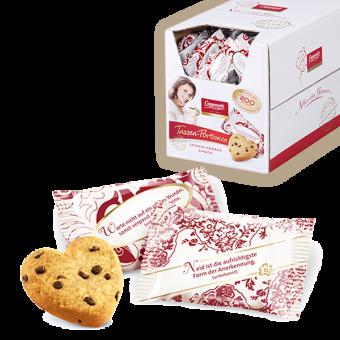 Coppenrath Choco Cookie - Herzen 200 Stück