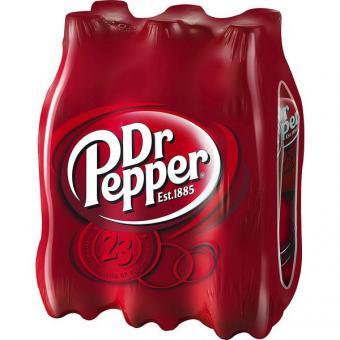 Dr Pepper  24x 0,5l EINWEG Flasche