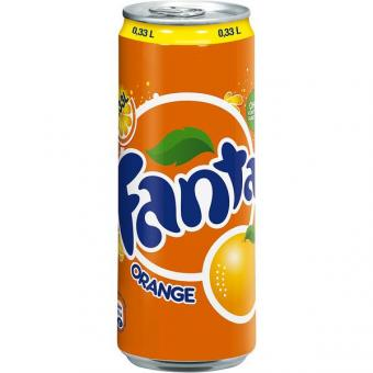 Fanta Orange 24x 0,33l EINWEG Dose