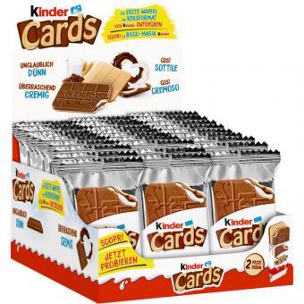 Ferrero Kinder Cards 2er  30x 25,6g