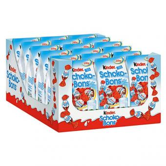 Ferrero Kinder Schoko Bons 18x 200g