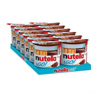 Ferrero Nutella and Go 12x 52g