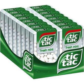 Ferrero Tic Tac Mint 100er 16x 49g