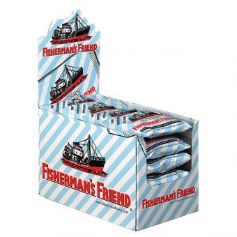 Fishermans Friend ohne Zucker  Eucalyptus / blau-weiß  24x 25g