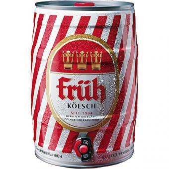 Früh Kölsch 2x 5l Fässer EINWEG pfandfrei