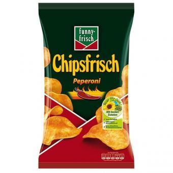 Funny Frisch Chipsfrisch Peperoni 10x 175g
