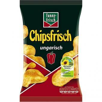 Funny Frisch Chipsfrisch ungarisch 12x 50g