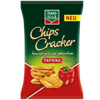 Funny-Frisch Chips Cracker Paprika 12x 90g