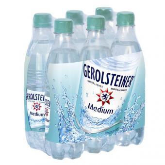 Gerolsteiner Medium 24x 0,5l EINWEG Flasche