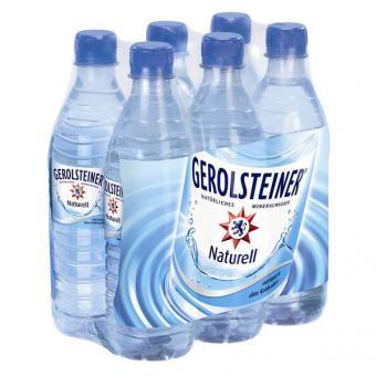 Gerolsteiner Naturell 24x 0,5l EINWEG Flasche