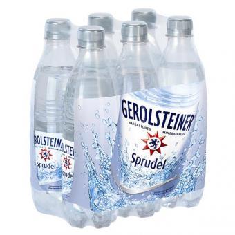 Gerolsteiner Sprudel 24x 0,5l EINWEG Flasche
