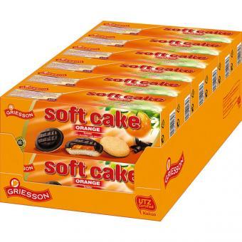 Griesson Soft Cake Orange Zartbitter 12x 150g