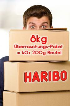 Haribo Überraschungspaket 8 kg - keine Bruchware