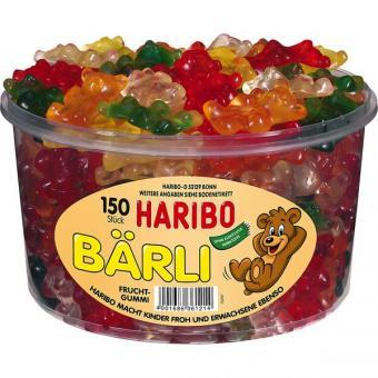 Haribo Bärli 150 Stück