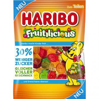 Haribo Fruitilicious -30% weniger Zucker 20x 160g