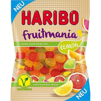 Haribo Fruitmania Lemon 16x 175g