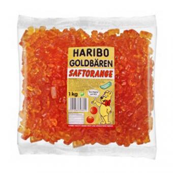 Haribo Goldbären - SORTENREIN orange - Saftorange 1kg