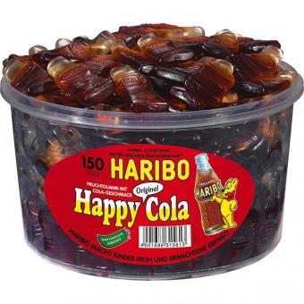 Haribo Happy Cola / Colafläschchen 150 Stück