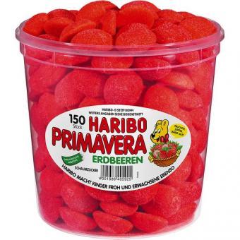 Haribo Primavera / Erdbeeren 150 Stück