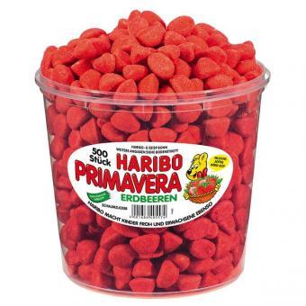 Haribo Primavera / Erdbeeren klein 500 Stück