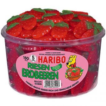 Haribo Riesen-Erdbeeren 150 Stück