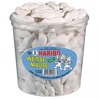 Haribo Weisse Mäuse 150 Stück