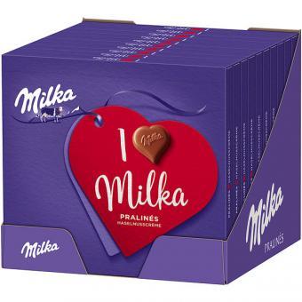 I Love Milka Pralinés Haselnusscrème 10x 110g