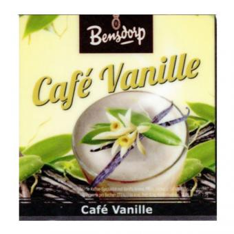 Incup gef. m. Bensdorp - Cafe Vanille Stange a 25 Becher