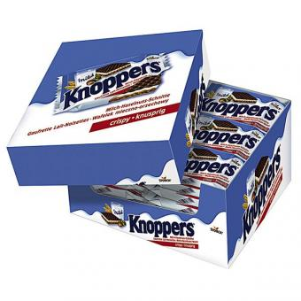 Knoppers Haselnuss Schnitte 24x 25g