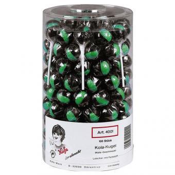 Küfa Cola-Kugel Lolly 100 Stück