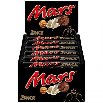 Mars Classic 2er Pack 24x 2x35g Schokoriegel