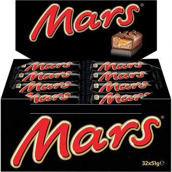Mars Classic Single 32 Schokoriegel 51g