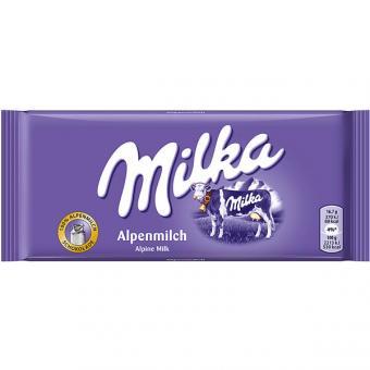Milka Alpenmilch 24 Tafeln 100g