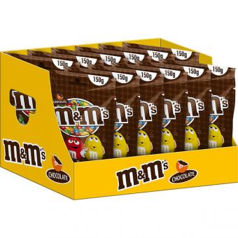 m&m's Choco 12 Beutel 150g