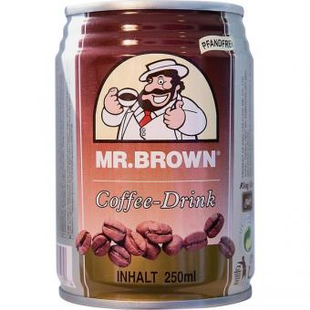 Mr Brown Eiskaffee 24x 250ml