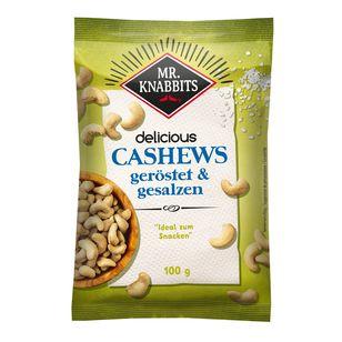 Mr. Knabbits Cashews 12x 100g