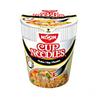 Nissin Cup Nudeln Huhn 8x 63g