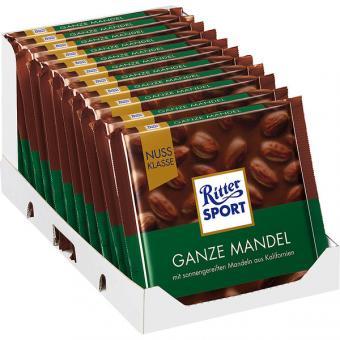 Ritter Sport Nuss-Klasse Ganze Mandel 11x 100g