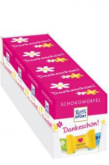 Ritter Sport Schokowürfel Box Dankeschön 4x 176g