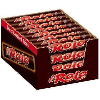Nestlé Rolo Toffee 36x 52g Rollen