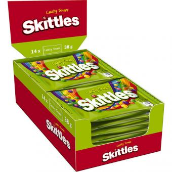 Skittles Crazy Sours 14x 38g